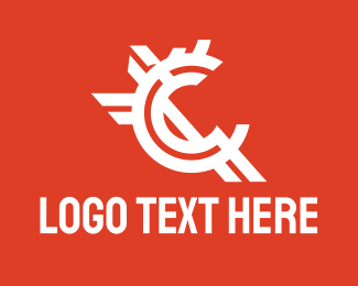 Money - White Currency Letter C  logo design