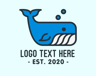 Children - Sperm Whale logo design
