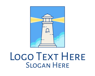 Coast Guard - Lighthouse Illustration logo design