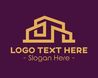 Architecture - Architectural House Realtor Building logo design