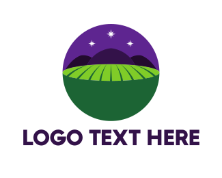 Field - Night Field logo design