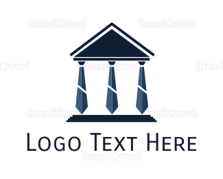 Hire - Tie Pantheon logo design
