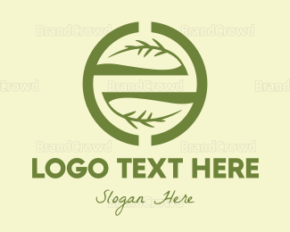 Gardening - Branch Circle logo design