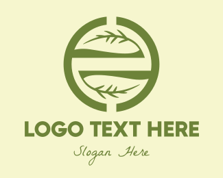 Twig - Branch Circle logo design