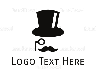 Apparel - Top Hat Gentleman logo design