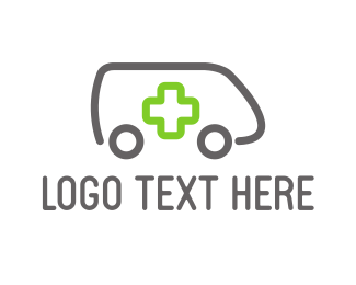 Emergency - Minimalist Ambulance logo design