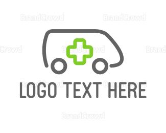 Hospital - Minimalist Ambulance logo design