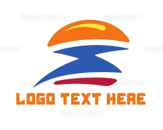 Bread - Burger Flash logo design
