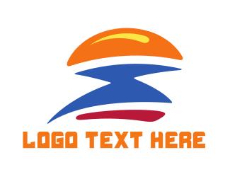 Flash - Fast Burger Flash logo design