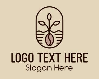Farm - Organic Coffee Farm logo design