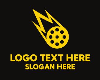 Fireball - Meteor Film logo design