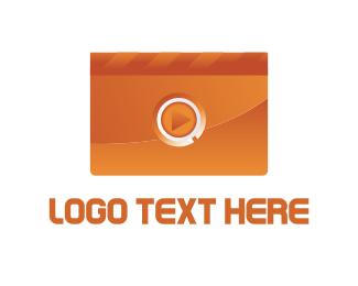 Cinema - Orange Multimedia logo design