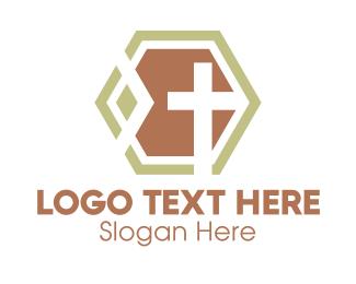 Religion - Modern Religion Cross logo design