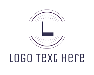 Circle - Minimalist Circle Lettermark logo design