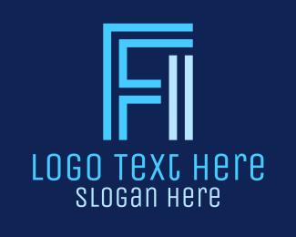 Monogram - F & I Monogram logo design