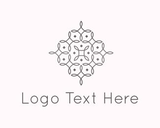 Fancy - Elegant Flower Lines logo design