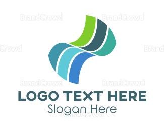 Curvature - Motion Waves logo design