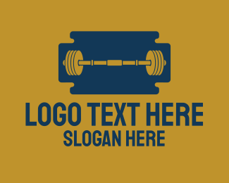 Razor - Razor Gym logo design