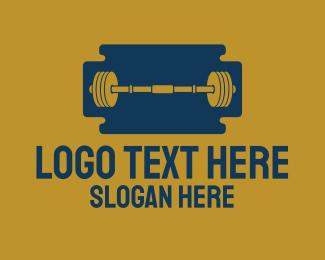 Gym - Razor Gym logo design