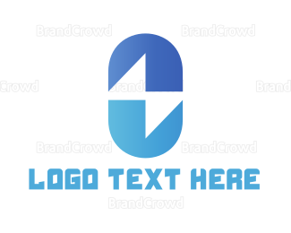 Pharmaceutic - Electrical Capsule logo design
