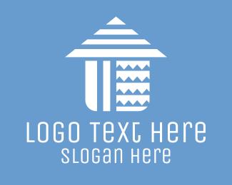 Aged Care - Home Patterns logo design