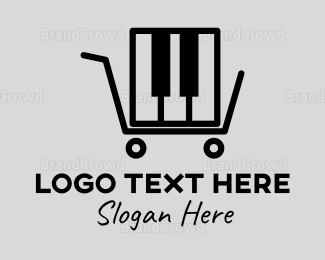 Instrument - Piano Store logo design