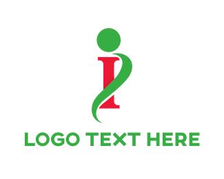 Letter I - Elegant Letter I logo design