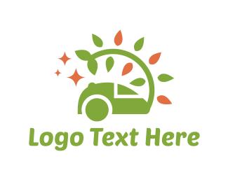 Housekeeper - Eco Vacuum logo design
