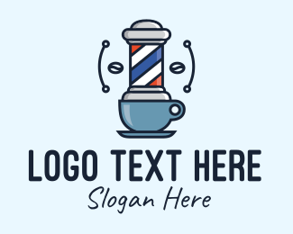Barbershop - Barbershop Cafe logo design