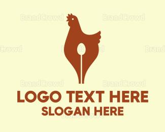 Editor - Hen Pen logo design