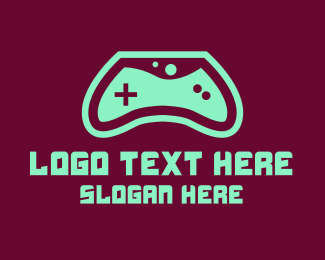 Console - Gaming Console Controller logo design