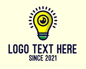 Light - Light Bulb Lens logo design