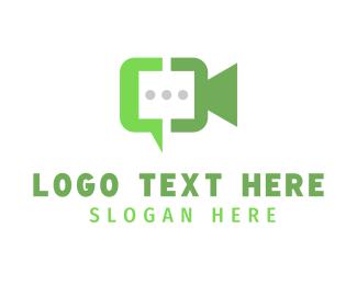 Discord - Video Chat logo design