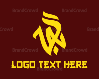Activity - Yellow VA Vandal logo design