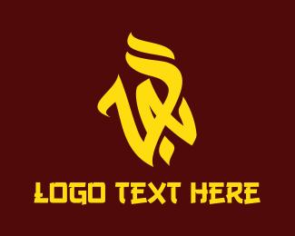 Trend - Yellow VA Vandal logo design