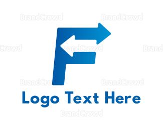 Back - Fast F logo design