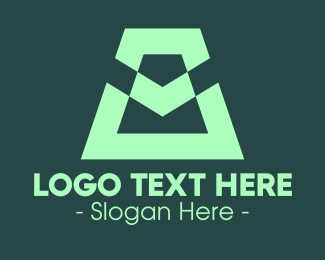 Business Solutions - Modern Green Symbol logo design