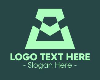 Business Solutions - Modern Green Symbol logo design