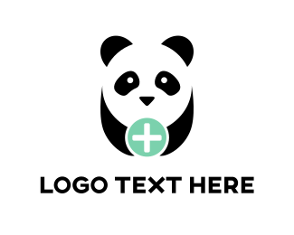 Healthcare - Panda Plus logo design
