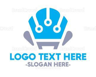 Comfortable - Tech Sofa logo design