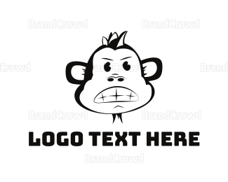 Monkey - Furious Monkey logo design