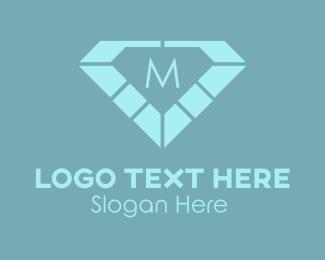 """Diamond Lettermark"" by SimplePixelSL"