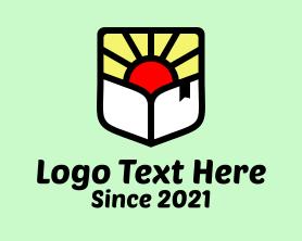 Sunrise - Sunrise Bookstore logo design