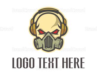 """Skull Headphones"" by beldinki"