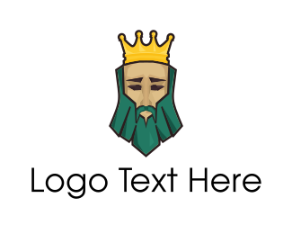 Emperor - Green King logo design