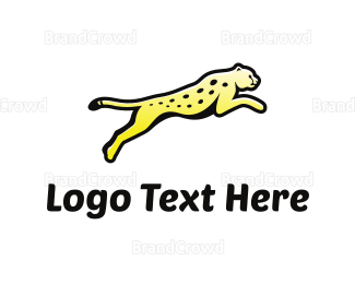 Jump - Wild Feline logo design