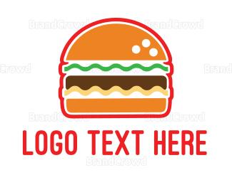 """American Burger"" by LogoBrainstorm"