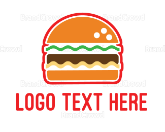 Bread - American Burger logo design