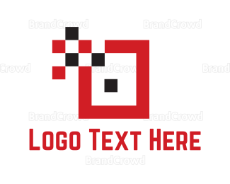 Red And Black - Red Data  logo design