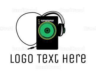 Radio - Radio DJ logo design